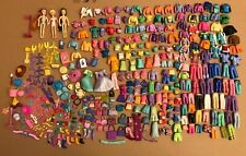 Nice Lot Polly Pocket Dolls Clothes Dresses Accessories & Some Mixed Toys