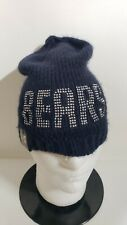 🔥🔥OFFICIAL CHICAGO BEARS NFL NEW ERA WOMENS BLING LINED BEANIE Hat NWT🏈🏈