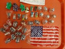 Vintage Gumball/Vending Flags/Parachute Men/Parachute Bomb Toys Lot Of 38 Pieces