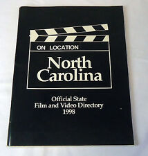 1998 On Location North Carolina - Official State Film And Video Directory