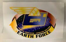 Babylon 5 Earth Force Postal Service Epsilon Sector Prototype Glossy Graphic