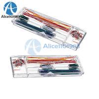 2PCS 140pcs U Shape Solderless Breadboard Jumper Cable Wire Kit Arduino with box