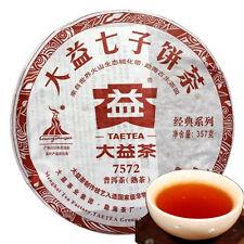 Green Food 100% authentic TAETEA Nian ripe Pu-erh Tea Menghai Dayi Tea 357g Tea