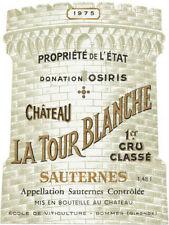 Étiquettes bordeaux pour vins et gastronomie Années 1970 de France
