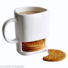 8.8oz Dunk Mug - Ceramic Cookies Mug Cookie Dunk Mug with Biscuit pocket holder