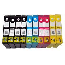 10x Drucker-Patronen für EPSON STYLUS SX125 SX130 S22 SX235W SX435W SX425W