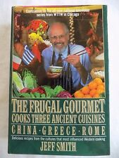 The Frugal Gourmet Cookbook Ancient Cuisines China Greece Rome 1989 1st Edition