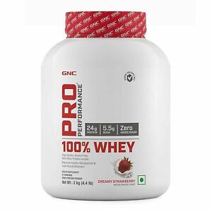 GNC Pro Performance 100% Whey Protein 2kg (Creamy Strawberry)