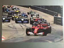 2002 Michael Schumacher's Ferriari Formula 1 Print, Picture, Poster RARE Awesome