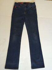 Guess Stretch Denim Straight Leg Jeans Size 26 Inseam 30; Dark Wash