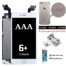 For iPhone 6 Plus 5.5'' Complete Touch Screen LCD Digitizer+Button +Camera White