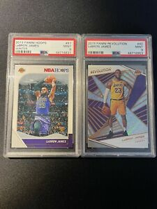 LeBron James - 2 Card PSA 9 Lot #2