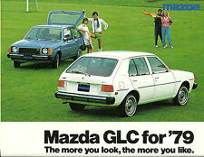 1979 Mazda GLC Brochure / Catalog: SPORT, DeLUXE, STATION WAGON,3, 5 Door