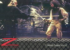 ZORRO THE MASK OF 2005 ARTBOX PROMO CARD PROMO 02