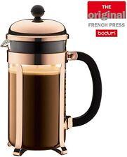 Bodum Classic Copper Chambord 8 Cup French Press Coffee Maker 34 Ounce **NEW**