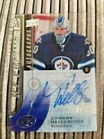 2015-16 UPPER DECK ICE PREMIERES AUTOGRAPHS #JPA-CH CONNOR HELLEBUYCK RC AUTO