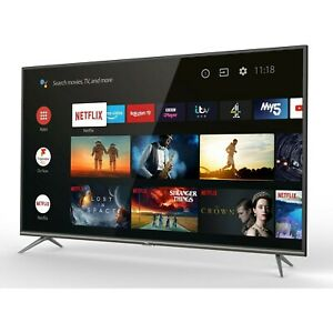 TCL 43P615K 43 4K Ultra HD Smart Android TV with Freeview Play