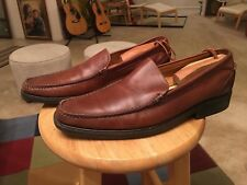 Cole Haan Nike Air Brown Leather Made In India Men's US12M Loafer Shoes