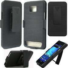 Samsung Galaxy S2 II i9100 i777 Attain Belt Clip Holster+Kick Stand Case Cover