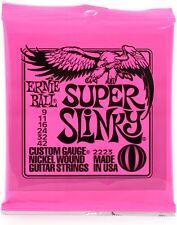 calibre 10-62 7 cuerdas Ernie Ball Skinny Top Heavy Slinky Cobalt Juego de cuerdas para guitarra el/éctrica