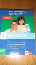 Lernsoftware Sprachtrainer Englisch 4 Lernjahr Green Line New E2 Klett Verlag