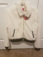 GUESS Factory Women's Marni Logo Faux-Fur Jacket. Medium. Brand new with tags.