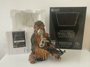 Star Wars Gentle Giant Chewbacca Mynock Mask Collectible Mini Bust