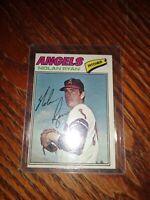 1977 Topps # 650 Nolan Ryan Pitcher Angels