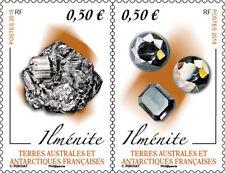 "French Antarctic TAAF - ""GEOLOGY ~ MINERALS ~ ILMENITE"" MNH Stamp Set 2018 !"