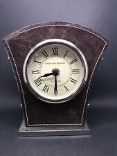 Vintage Green & Knowles Desk Clock - Battery Operated - Working