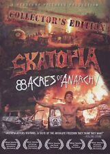 Skatopia: 88 Acres of Anarchy Skateboard DVD Collector's Edition Sports