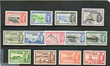 SG 221/SG 233 TURKS & CAICOS MINT SET COMPLETE CAT £85