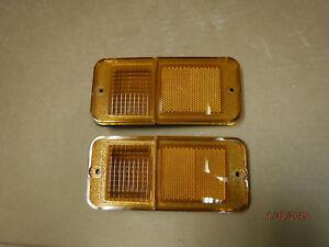 NEW REPO 68-72 TRUCK Chevy/GMC FRONT 78-84 Chevy Van Side Marker Lenses VANDURA