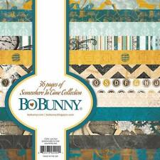 "New Bo Bunny Paper Pad 6"" x 6"" Somewhere In Time"