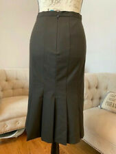 ISAAC MIZRAHI Brown Skirt sz 10