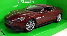 Nex models 1/24 Scale 24046W Aston Martin Vanquish Dark red Diecast model car