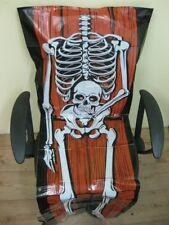 Stuhlhusse Halloween-folienstuhlhusse-halloweendeko-gruselstuhlhusse