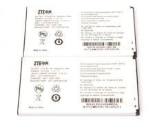 2 Lot Genuine Oem Zte Li3712T42P3h734141 Standard Batteries for U236 X500 Score