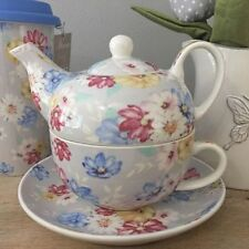 Vintage/Retro Floral Dishwasher Safe Teapots