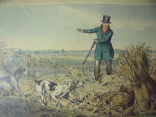 "HENRY ALKEN PAIR LITHOS ""PHEASANT SHOOTING & PARTRIDGE SHOOTING""THO MCLEAN 1824"