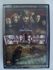 Pirates of the Caribbean At World's End 2007 Limited Edition 2 Disc DVD
