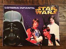 1980 Vintage STAR WARS (Loteria Infantil) Industria ARGENTINA Board Game, RARE!