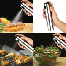 135ml Stainless Steel Cooking Olive Oil Spraying Bottle Vinegar Sprayer Tools