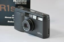 [NEAR MINT] Ricoh GR1s Black Point & Shoot 35mm Film Camera from Japan