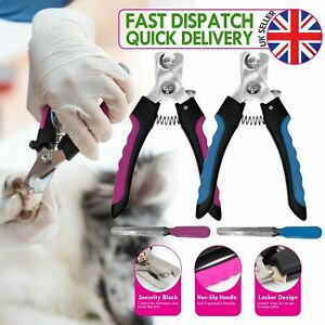 Pet Dog Cat Rabbit Toe Nail Trimmer Grooming File Clippers Claw Scissors Cutter