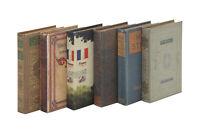 Zimlay Decorative Wood And Fabric Set Of 6 Boxes 50293