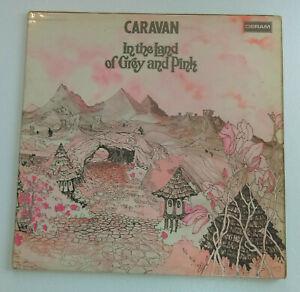 CARAVAN In The Land Of Grey And Pink PROG ROCK LP Deram UK 1971 Gatefold