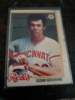 1978 O-Pee-Chee Cesar Geronimo #32