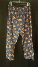 Superman DC Comic Book Sleep Wear  Lounge Pants Pajama PJs sz L Adult