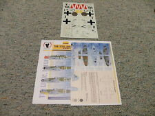 Eagle Strike  decals 1/32 32058 Too Little Too Late BF109H-4 Part 2    N73